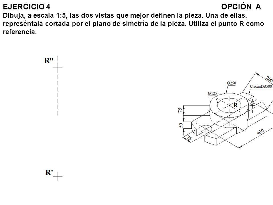 Paso 1.- Trazamos los ejes la altura del alzado y la circunferencia de la planta.