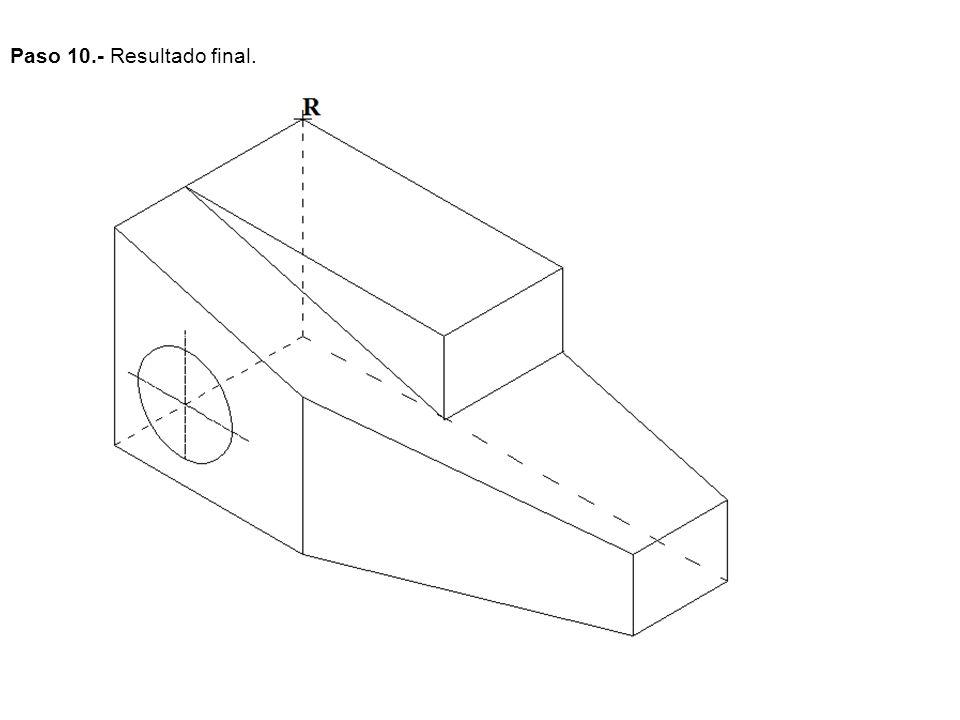 EJERCICIO 4OPCIÓN B Dibujar a escala 1:5, y acota según normas, las dos vistas que mejor definen la pieza.