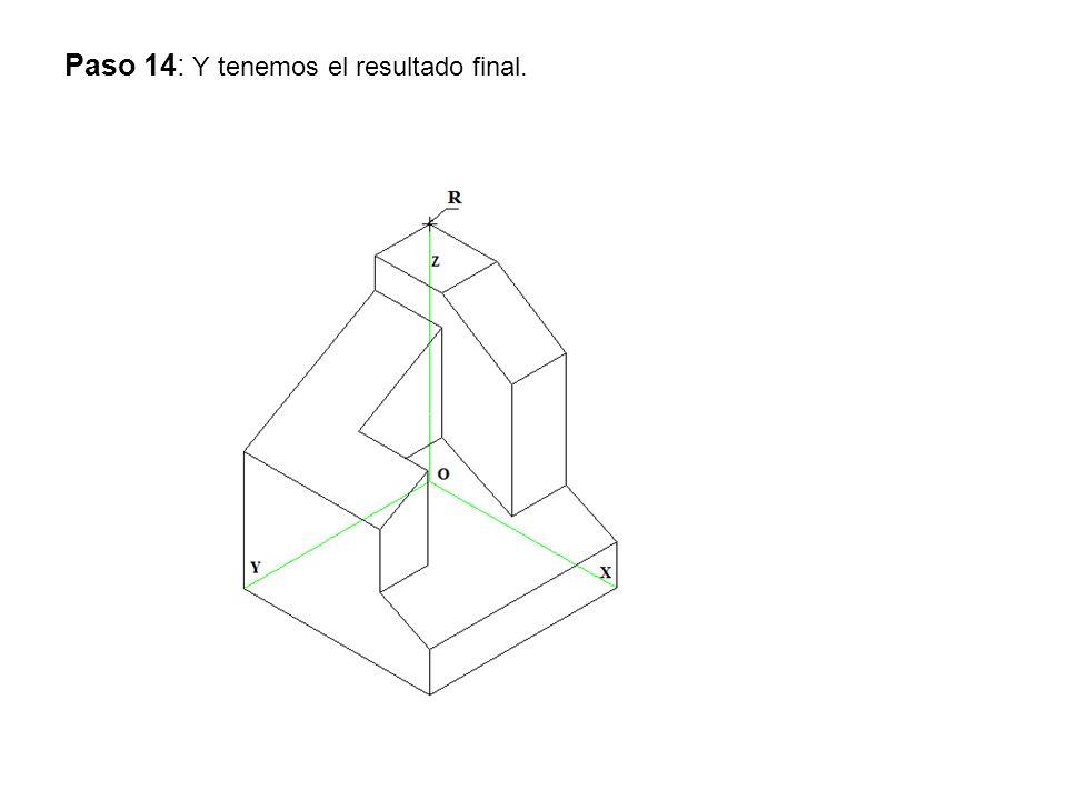 Ejercicio 4:OPCIÓN A Dibuja a escala 1:3, y acota según normas, las dos vistas que mejor definen la pieza.