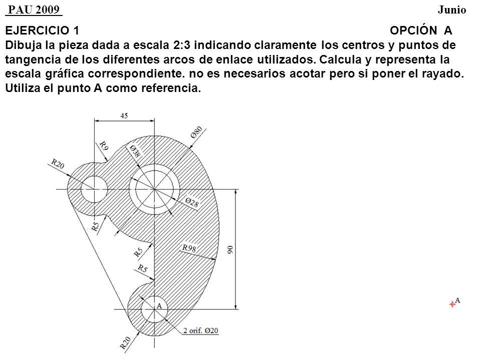 EJERCICIO 3OPCIÓN A Por un punto A traza el plano β paralelo al plano α dado.