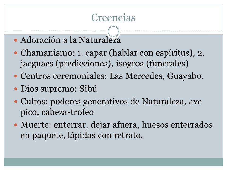 Creencias Adoración a la Naturaleza Chamanismo: 1.