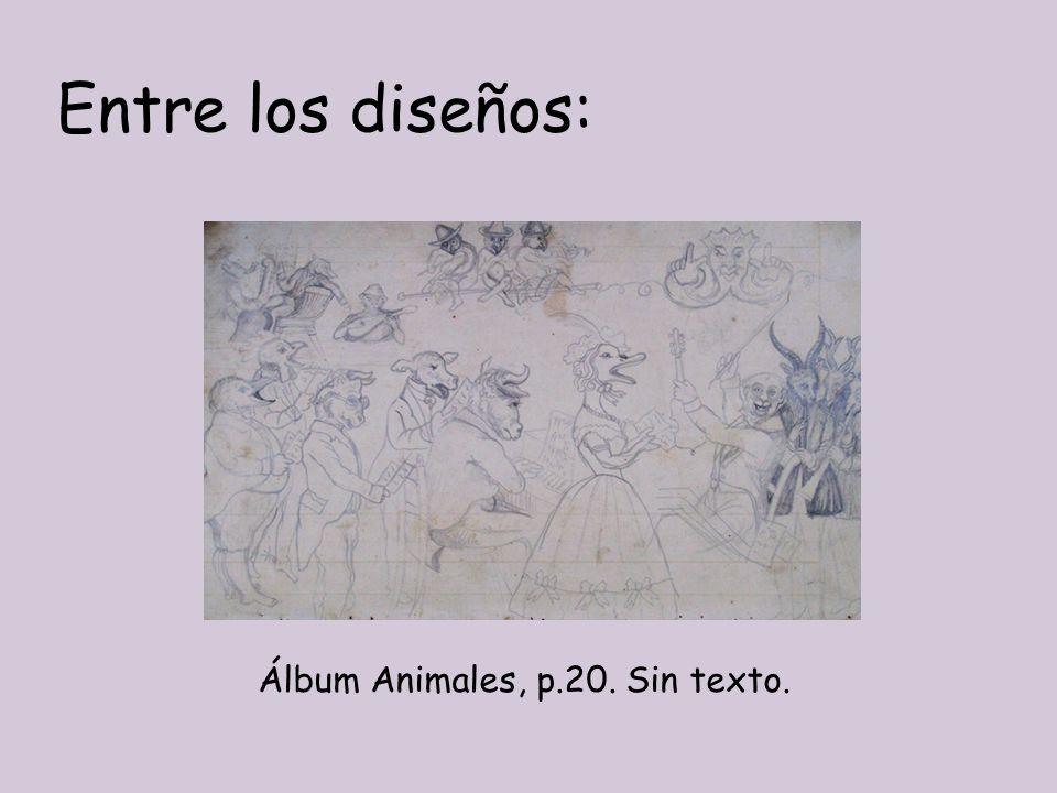 Entre los diseños: Álbum Animales, p.20. Sin texto.