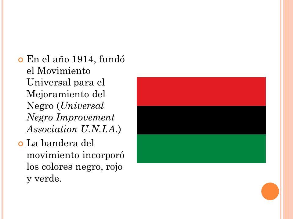 En el año 1917 fundó la primera sección de la UNIA fuera de Jamaica en E.E.U.U.