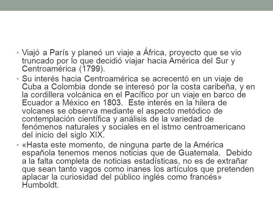 Se diferenciaba de los autores que nunca pisaron tierras latinoamericanas en que obtenía sus informaciones bajo una línea de comunicación transcontinental en vez de obtenerla de segunda mano por medio de viajeros europeos.
