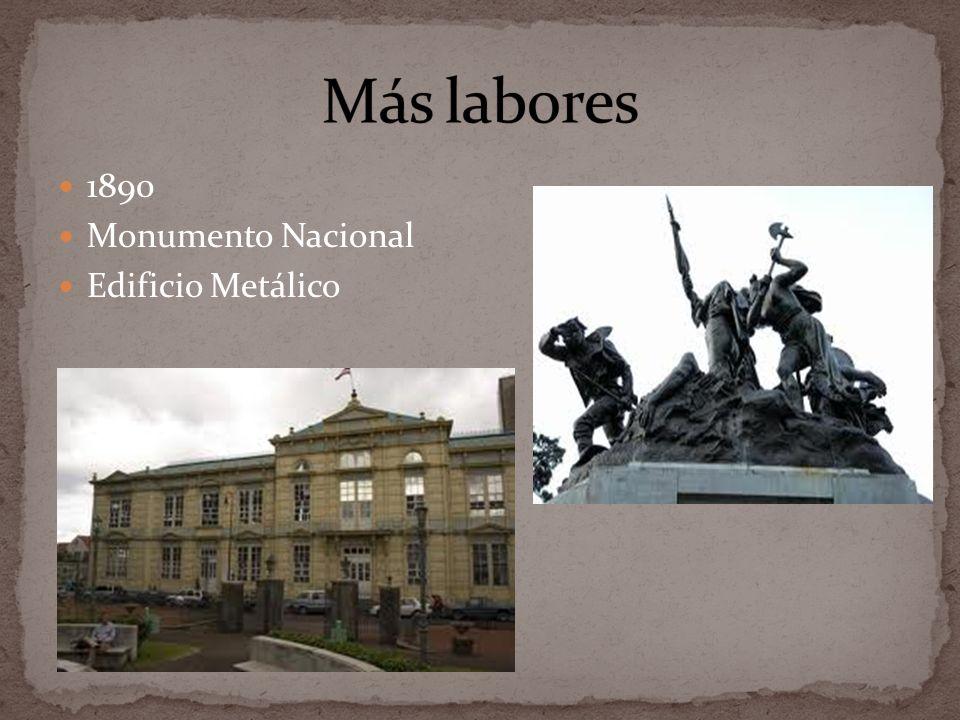 1890 Monumento Nacional Edificio Metálico