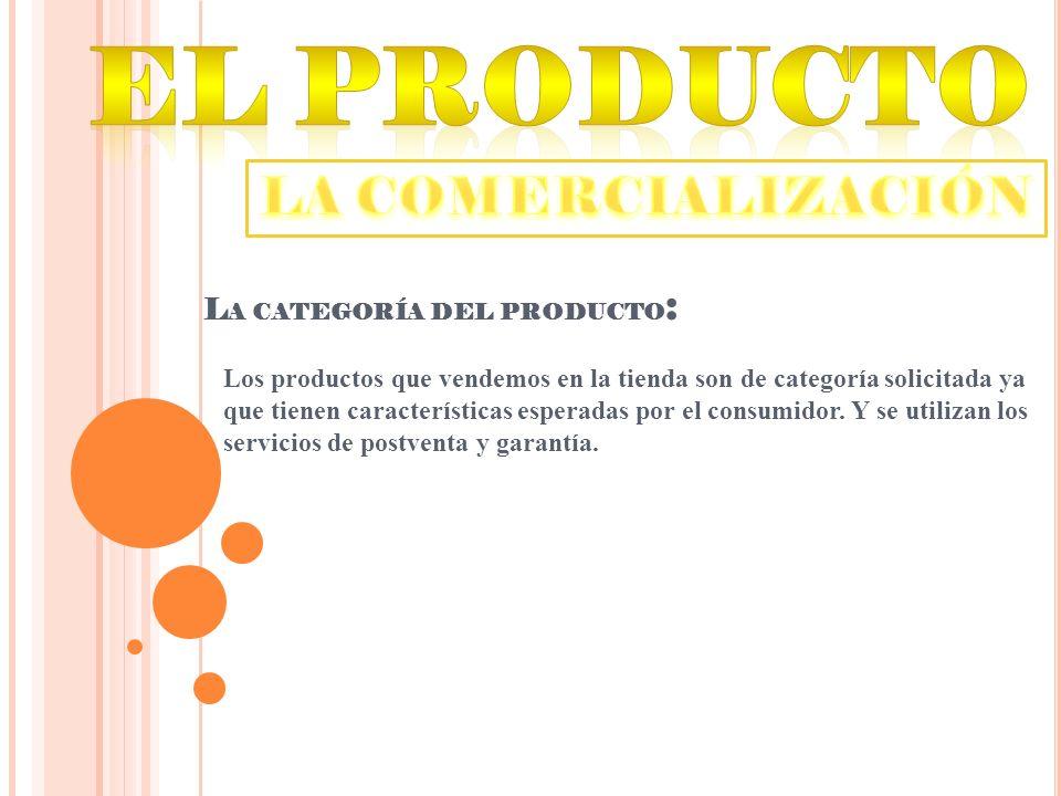 CALIDAD La calidad del producto es la mayoria de las veces percivida por el consumidor.