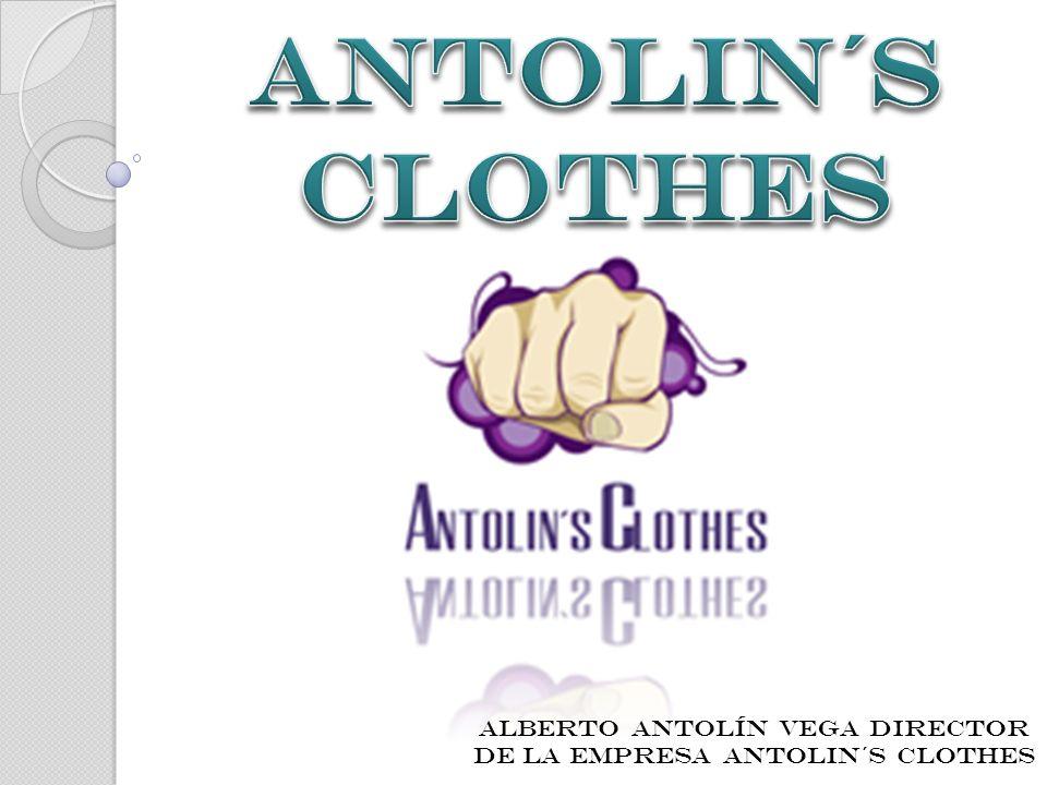 Alberto AntolÍn Vega director de la empresa ANTOLIN´S CLOTHES