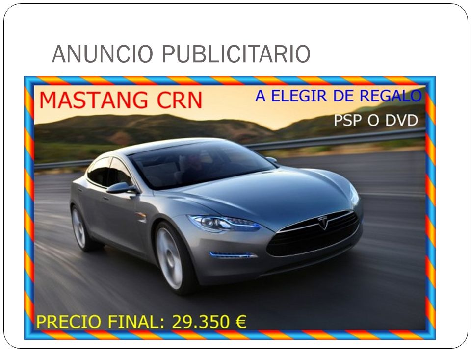 ANUNCIO PUBLICITARIO