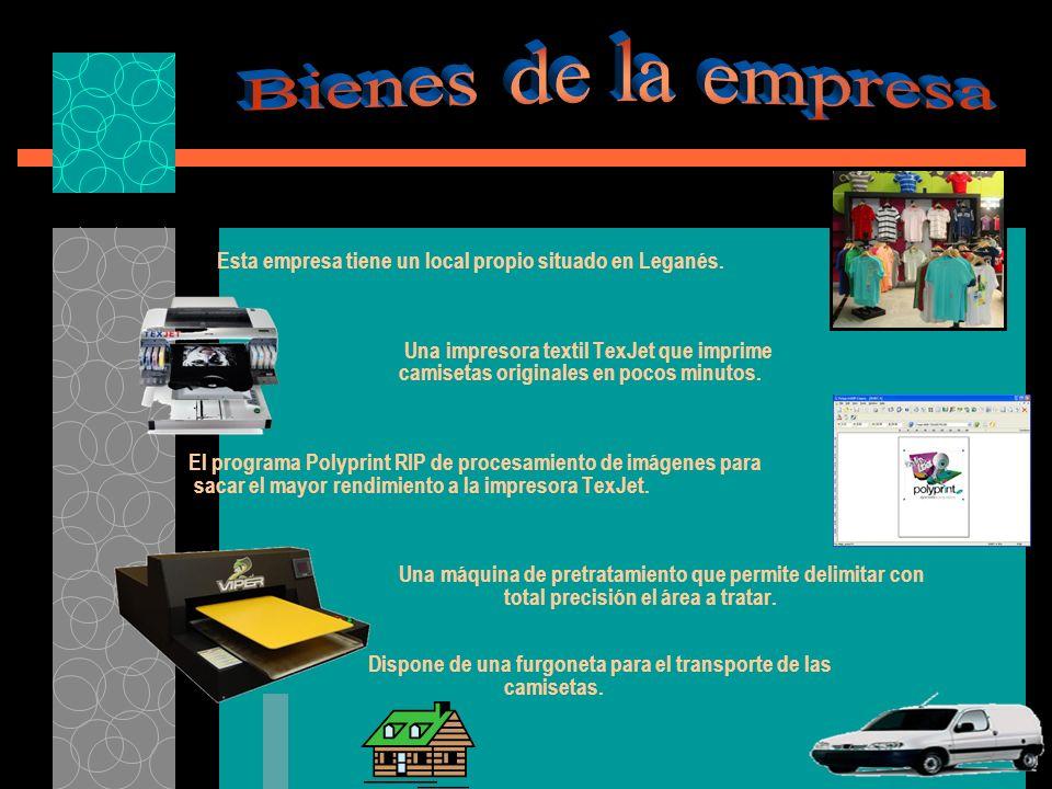 Esta empresa tiene un local propio situado en Leganés.