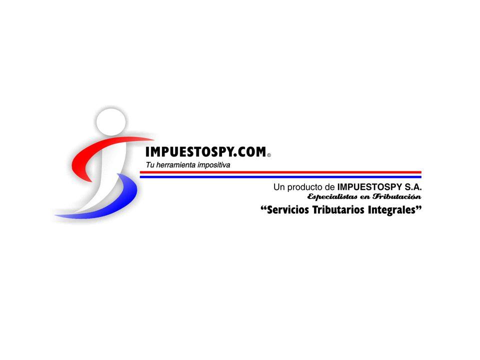 Ejemplos de liquidación Finca de 1.000 hectáreas – Hernandarias, AP Quinto Paso: Aplicación de la Tasa Grandes Inmuebles RENTA NETALEY 2.421LEY 125 Renta Neta Imponible507.200.000 Gs4.188.557 Gs Tasa10%25% Impuesto50.720.000 Gs1.047.139 Gs con régimen contable
