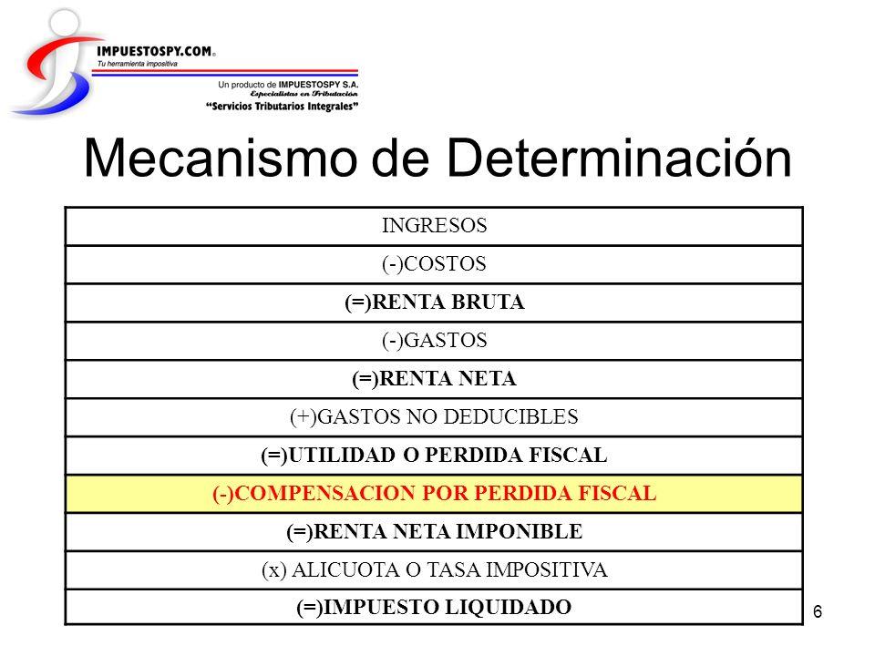 17 3ª. Página Firma del Contribuyente Recepción Eras o DGGC
