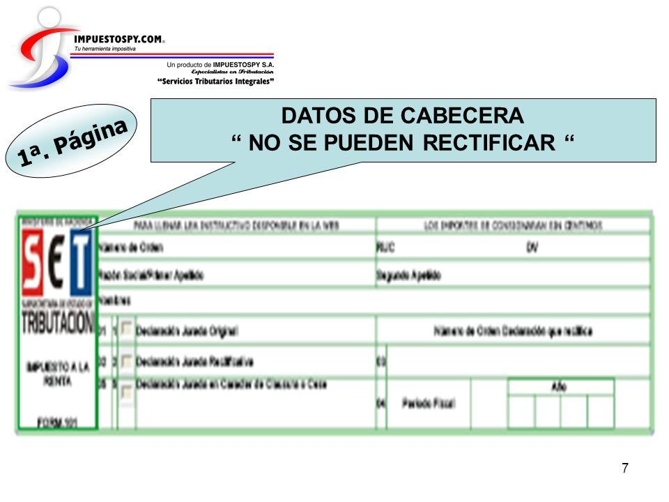 8 Rubro 1.- ESTADO DE RESULTADOS 1ª. Página