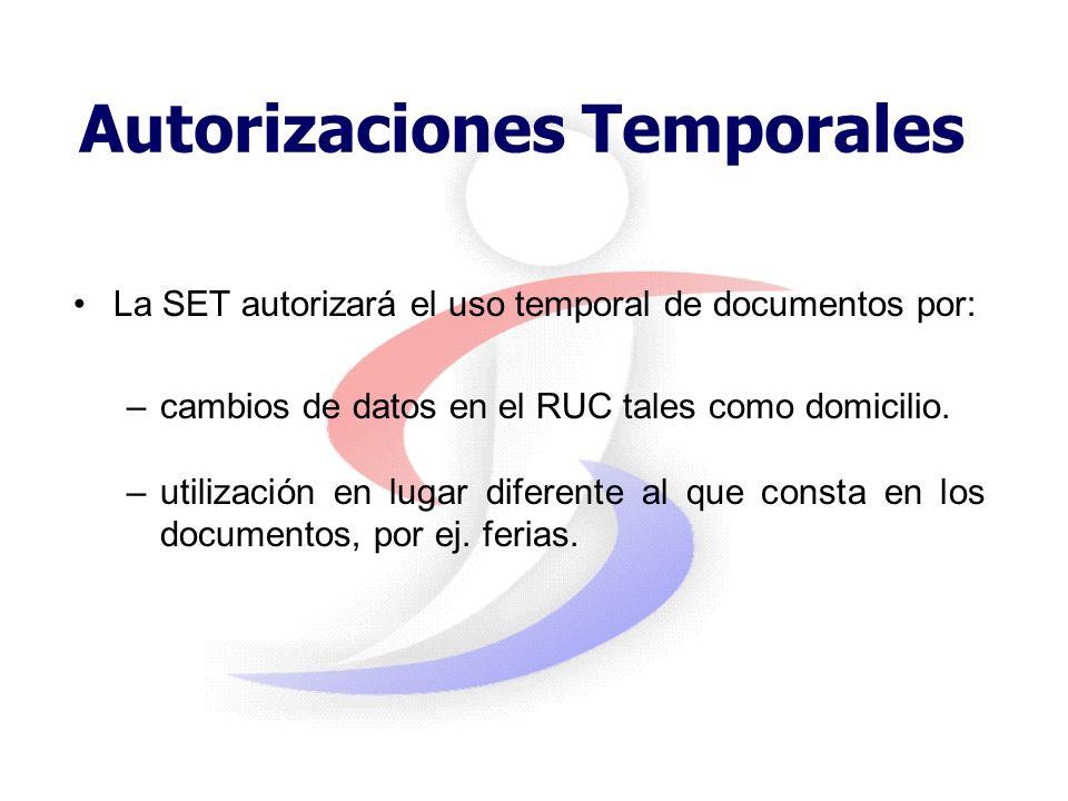 Baja de documentos timbrados Los documentos timbrados no utilizados deberán ser dados de baja dentro de los 10 días hábiles desde: –Vencimiento de vig