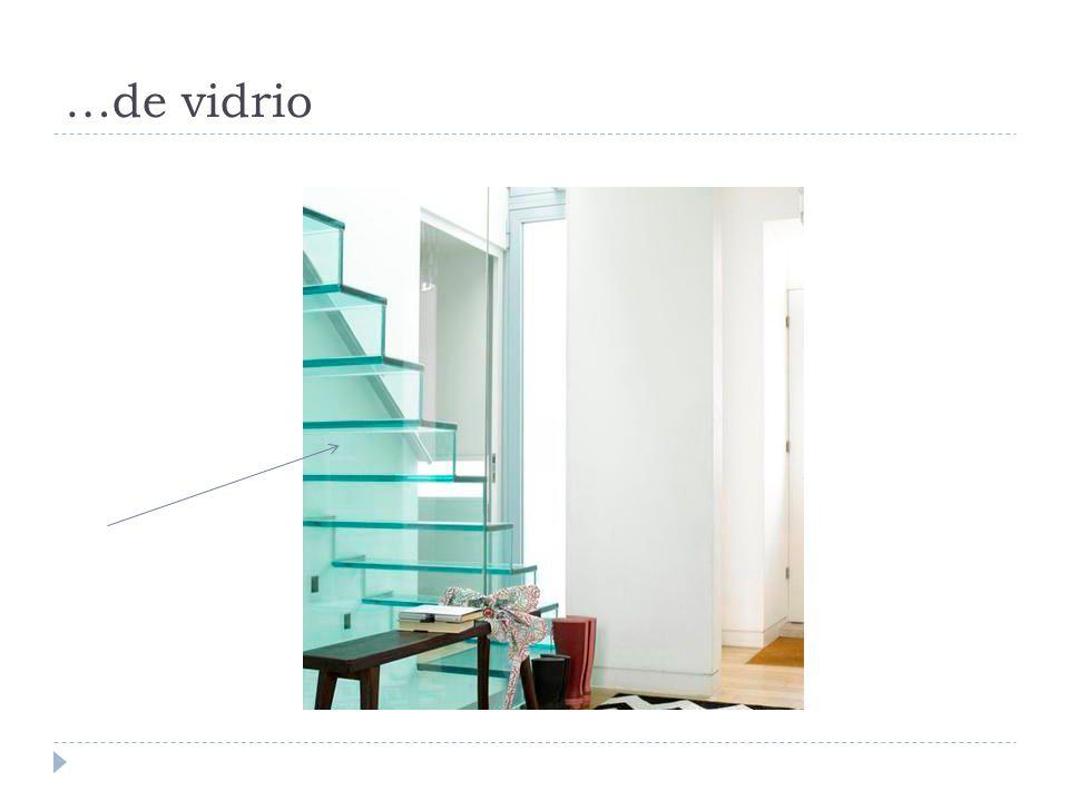 …de vidrio