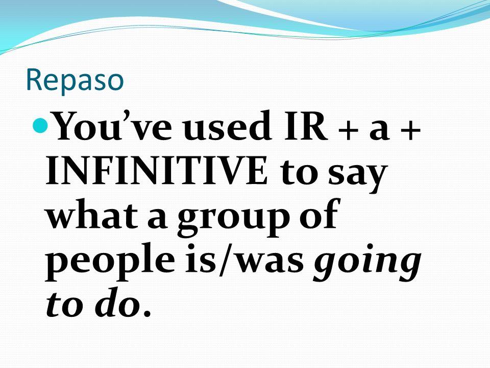 Lets/lets not To suggest that a group of people DO or NOT DO something: (Lets/Lets not do something): use NOSOTROS COMMANDS HABLEMOS español en la clase de español, NO HABLEMOS inglés.