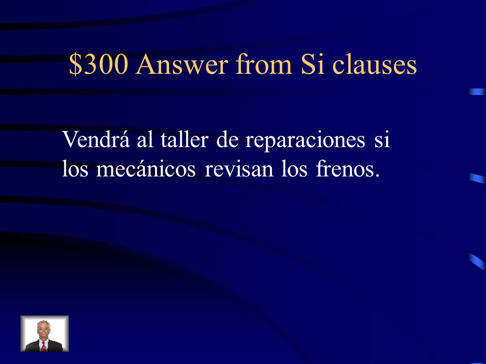 $300 Question from Si clauses She will come to the repair shop if the mechanics check the breaks.