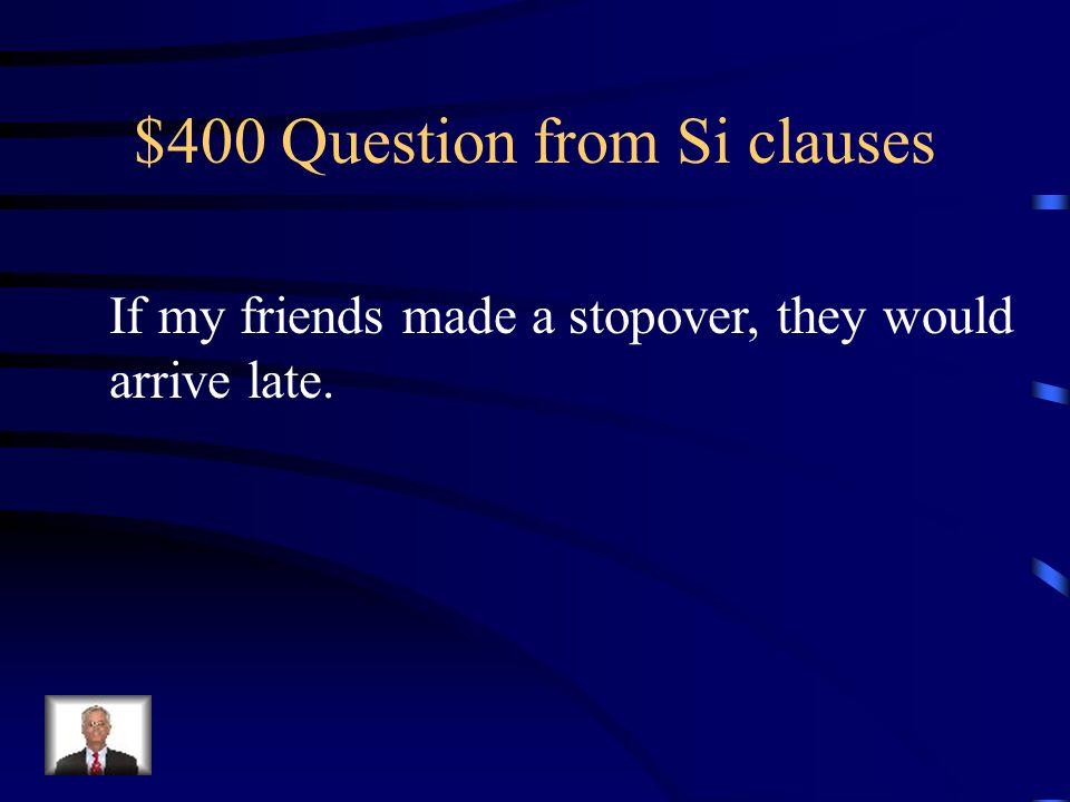 $300 Answer from Si clauses Vendrá al taller de reparaciones si los mecánicos revisan los frenos.