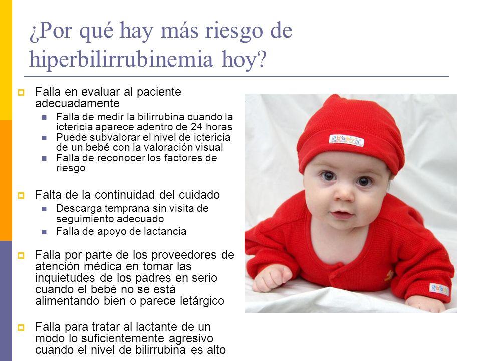 Bilirrubina transcutánea (Reyes, 2008) Una efectiva herramienta de detección de hiperbilirrubinemia para identificar a aquellos lactantes que necesitan una investigación adicional con un nivel de bilirrubina en suero.