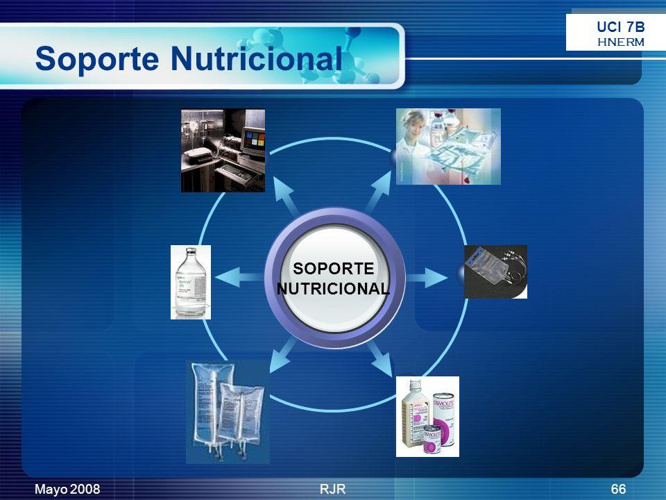Mayo 2008RJR66 Soporte Nutricional SOPORTE NUTRICIONAL UCI 7B HNERM