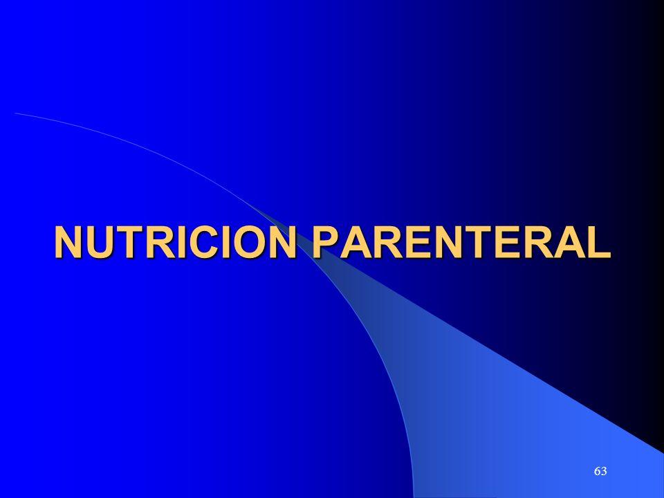 63 NUTRICION PARENTERAL