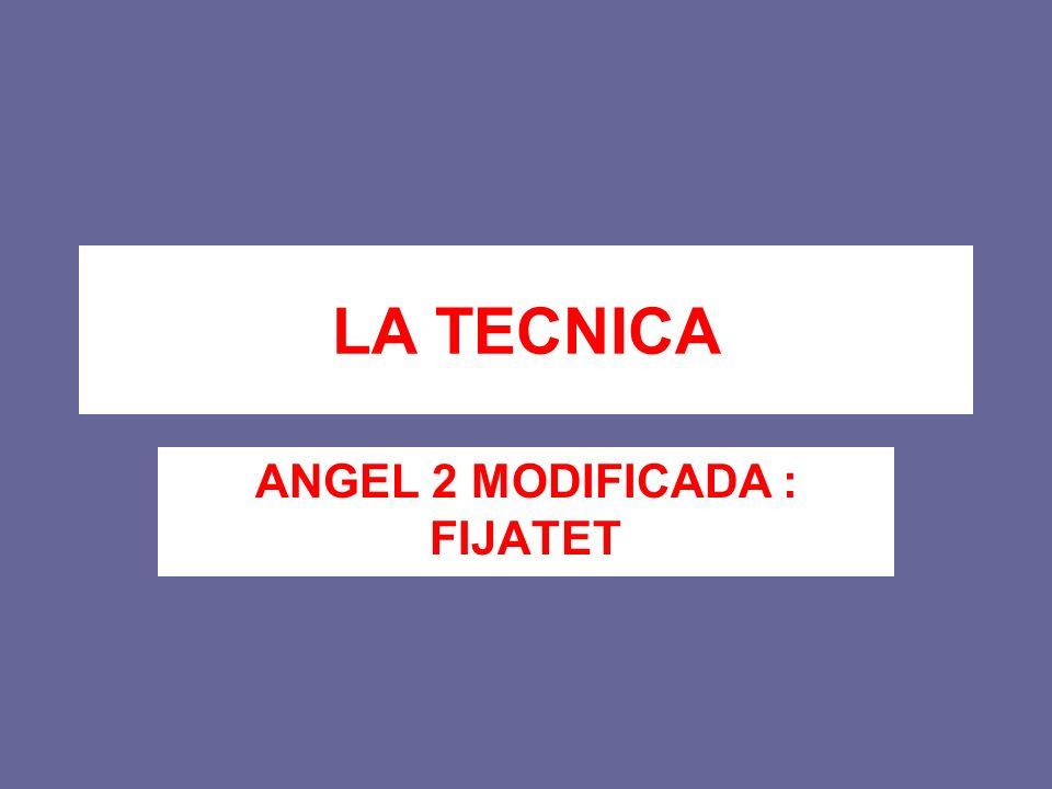 LA TECNICA ANGEL 2 MODIFICADA : FIJATET