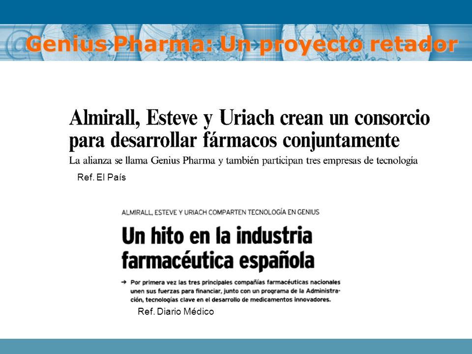 Ref. El País Ref. Diario Médico Genius Pharma: Un proyecto retador