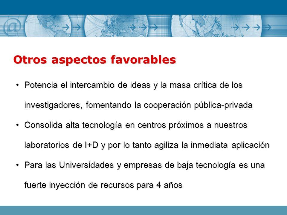 Potencia el intercambio de ideas y la masa crítica de los investigadores, fomentando la cooperación pública-privadaPotencia el intercambio de ideas y