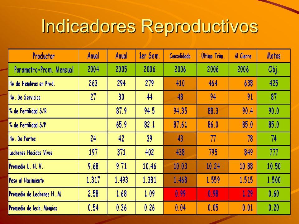 Indicadores Reproductivos