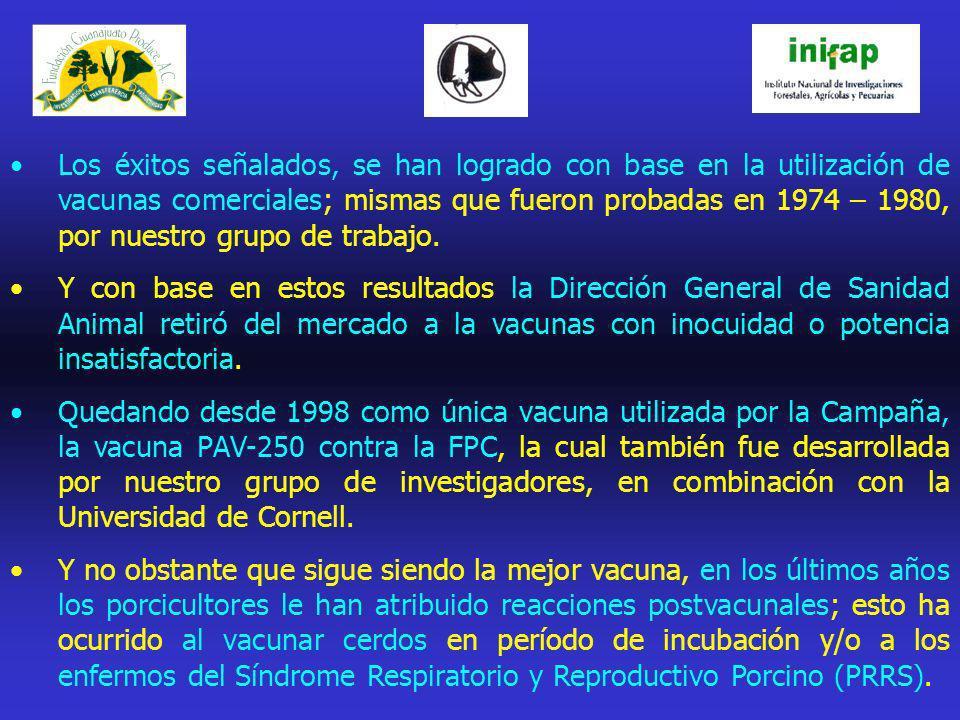 METODOLOGÍA : PREPARACIÓN DE LOTES DE LA VACUNA PAV-250: LOTE DE VACUNA-INIFAP INACTIVADA OLEOSA / TIT.