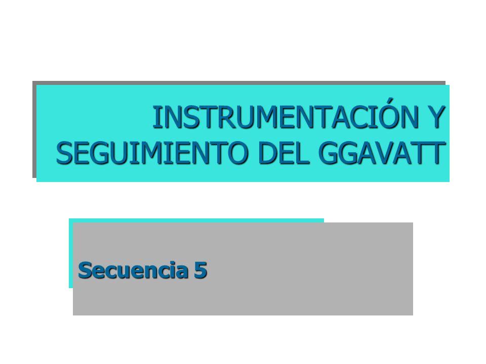 INSTRUMENTACIÓN Y SEGUIMIENTO DEL GGAVATT Secuencia 5