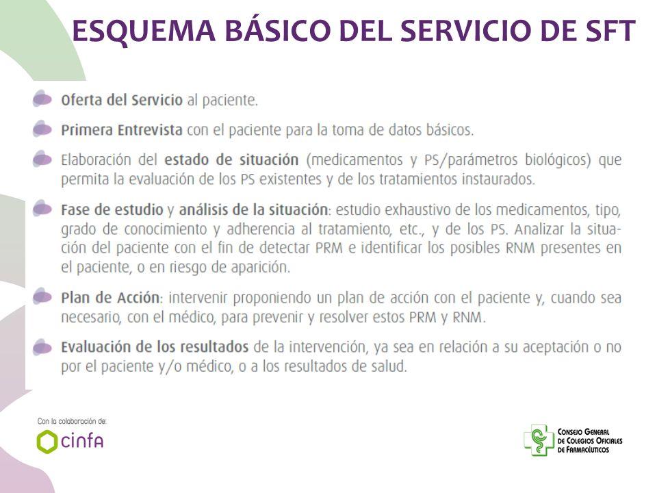 ESQUEMA BÁSICO DEL SERVICIO DE SFT