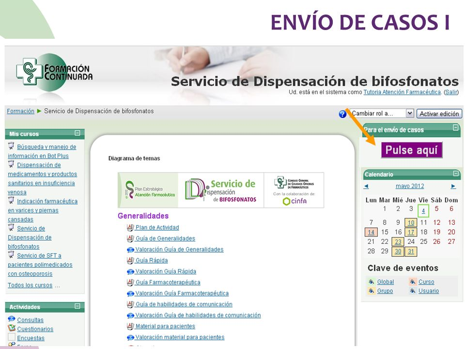 ENVÍO DE CASOS I