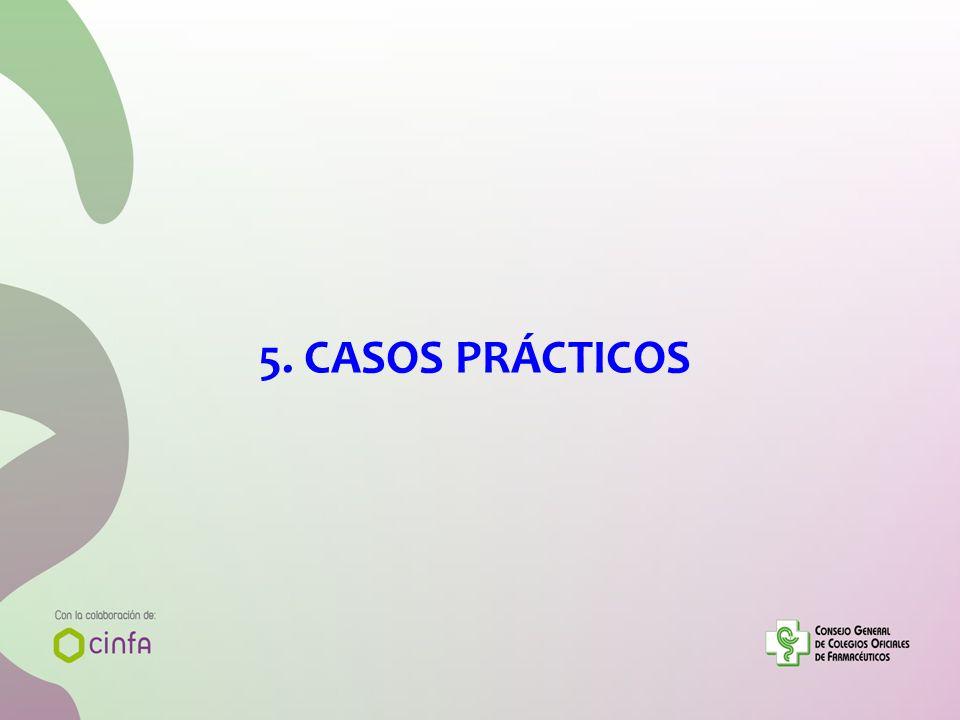 5. CASOS PRÁCTICOS