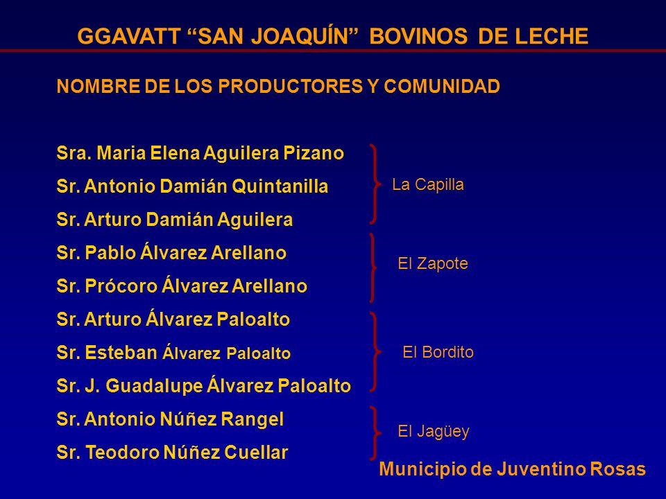 GGAVATT SAN JOAQUÍN BOVINOS DE LECHE Figura 2.