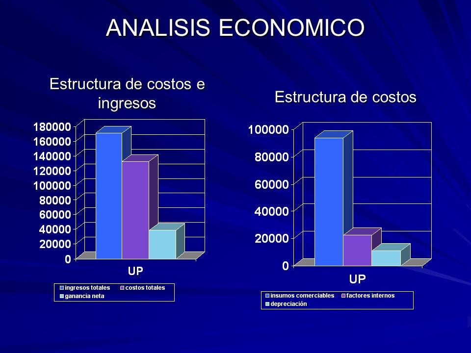 ANALISIS ECONOMICO CONCEPTOMONTO INGRESOS TOTALES (CV) 171,072 I. POR LECHE I. POR LECHE 169,872 169,872 I. POR BECERROS I. POR BECERROS 1,200 1,200 C