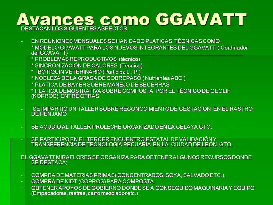 AVANCE TECNICO DE LOS PRODUCTORES NOMBRE DE LOS INTEGRANTES:% AV. TEC. JESÚS FCO. MARTÍNEZ LOPÉZ50 TOMÁS GONZÁLEZ RÍOS50 FILIBERTO GONZALEZ RIOS50 FER