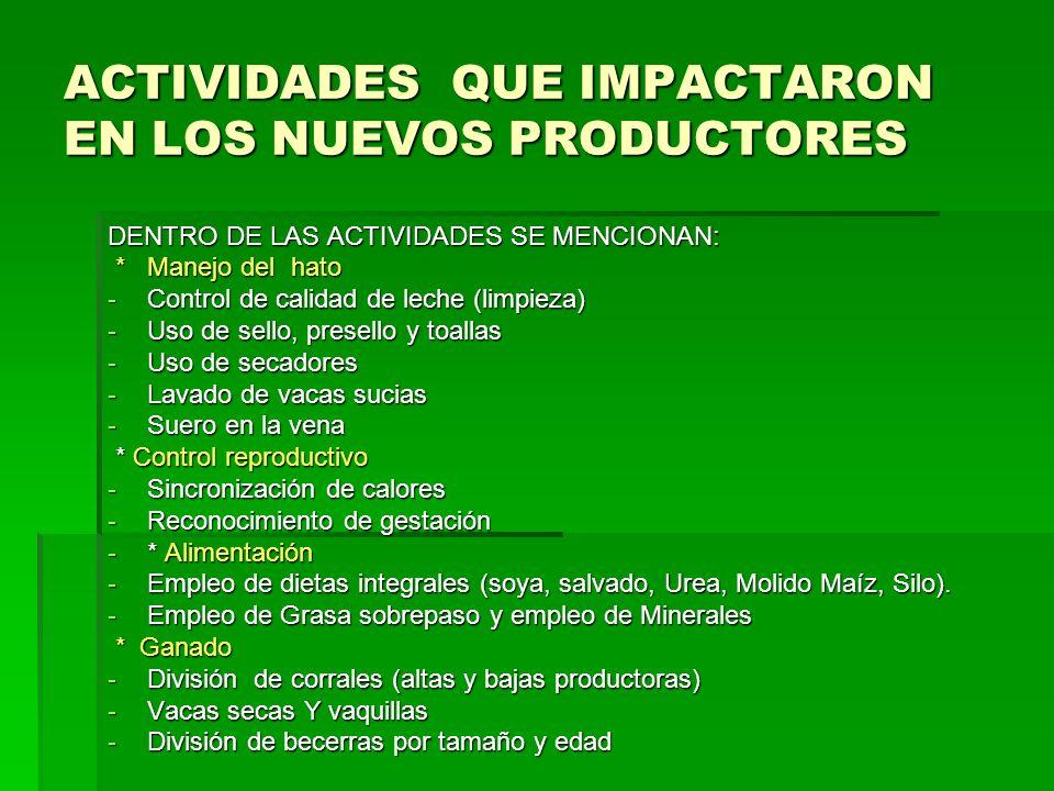 TRANSFERENCIA DE EMBRIONES 11 vacas implantadas de las cuales 5 fueron positivas 45.45% 11 vacas implantadas de las cuales 5 fueron positivas 45.45%