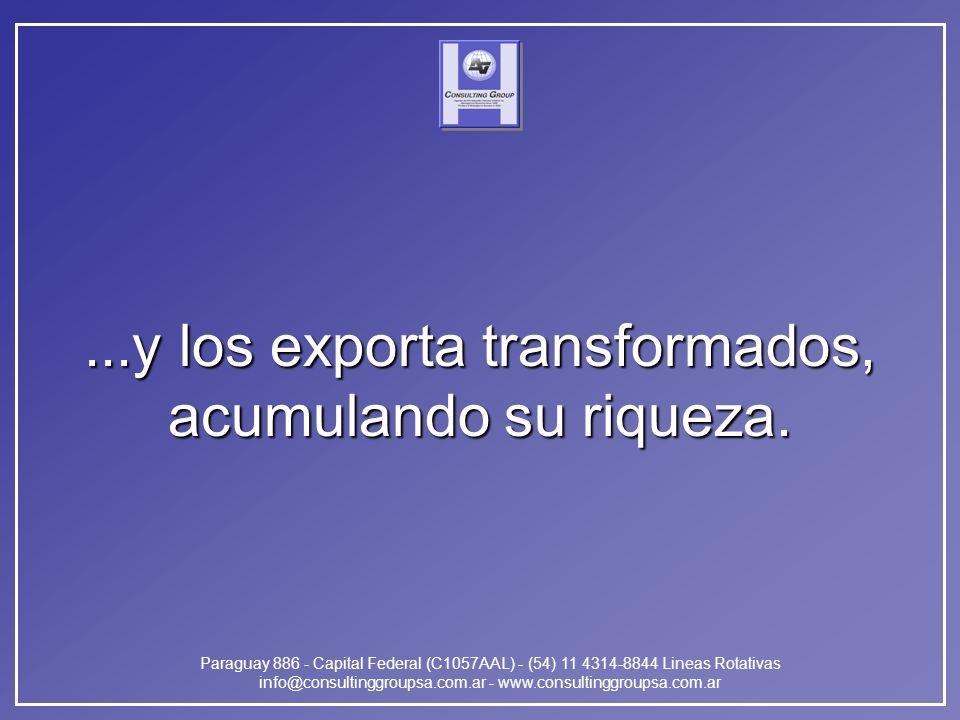 Paraguay 886 - Capital Federal (C1057AAL) - (54) 11 4314-8844 Lineas Rotativas info@consultinggroupsa.com.ar - www.consultinggroupsa.com.ar...y los ex