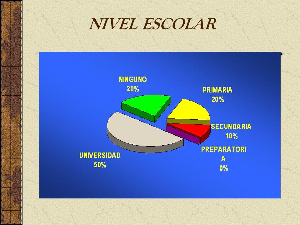 NIVEL ESCOLAR