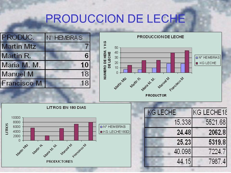 PRODUCCION DE LECHE