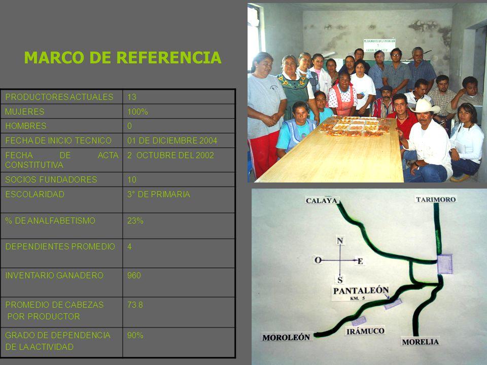 SUBPROGRAMA DESARROLLO DE PROYECTOS AGROPECUARIOS INTEGRALES GGAVATT DOBLE PROPOSITO PRODUCTORAS DE PANTALEÓN PRODUCTORAS DE PANTALEÓN REPRESENTANTE DEL GRUPO: Ma.