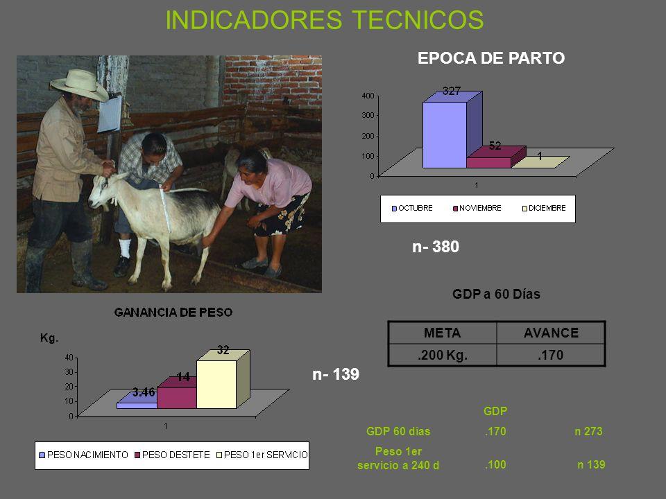 n-645 METAAVANCE 3 Kg.3.46 Kg. n -380 INDICADORES TECNICOS
