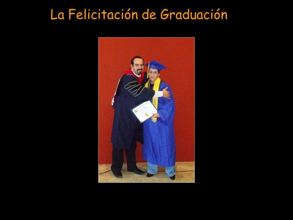 La Felicitación de Graduación