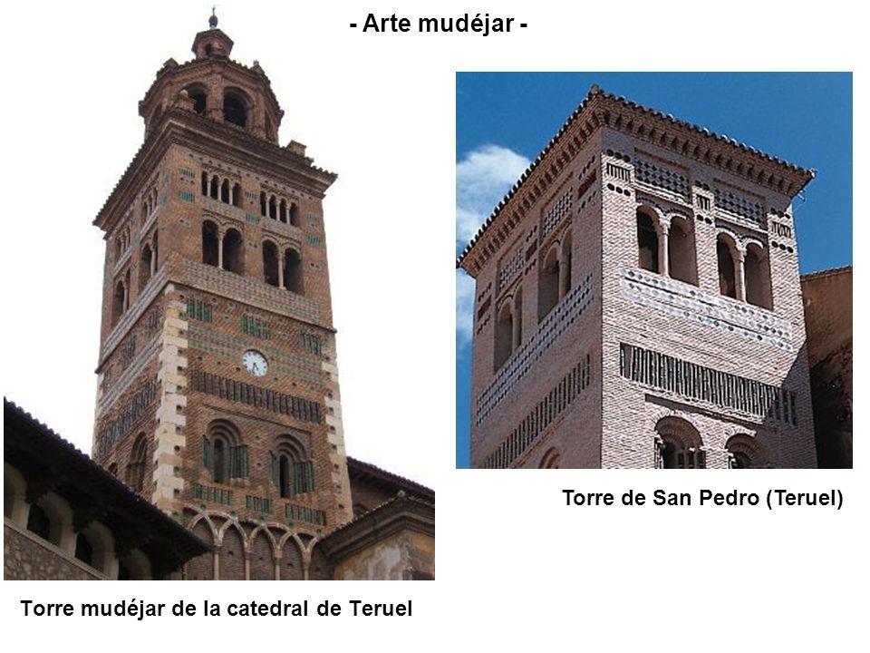 Torre de San Pedro (Teruel) Torre mudéjar de la catedral de Teruel - Arte mudéjar -