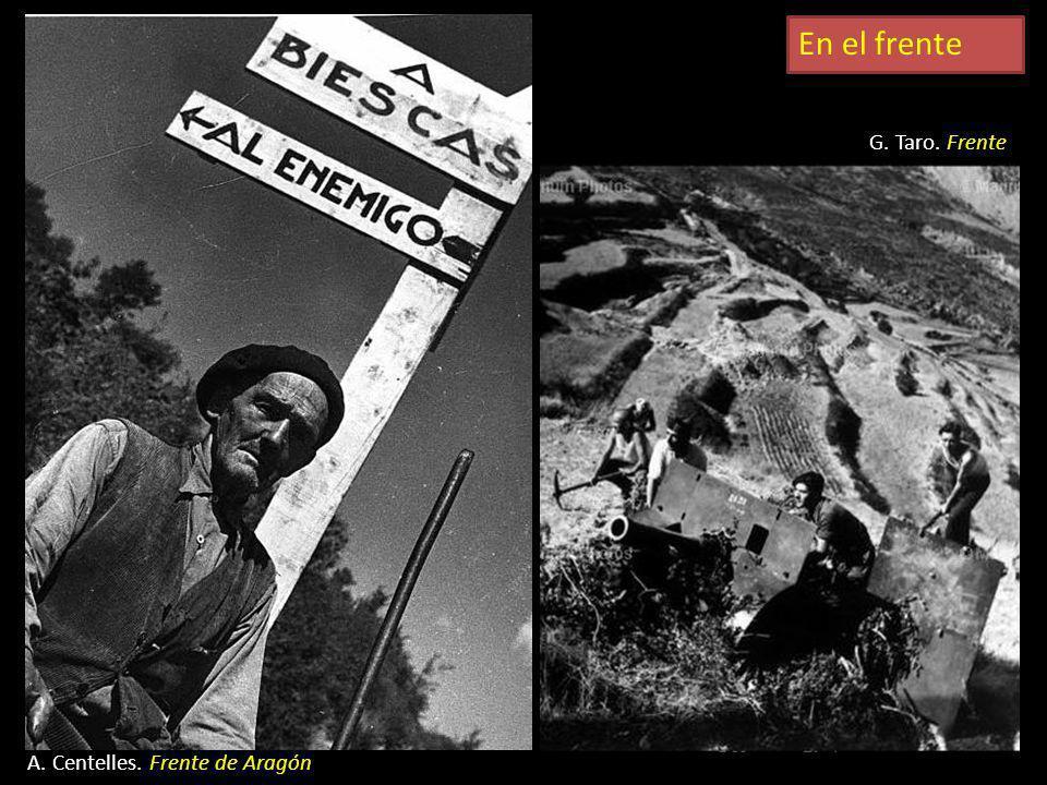 En el frente G. Taro, Frente de Navacerrada