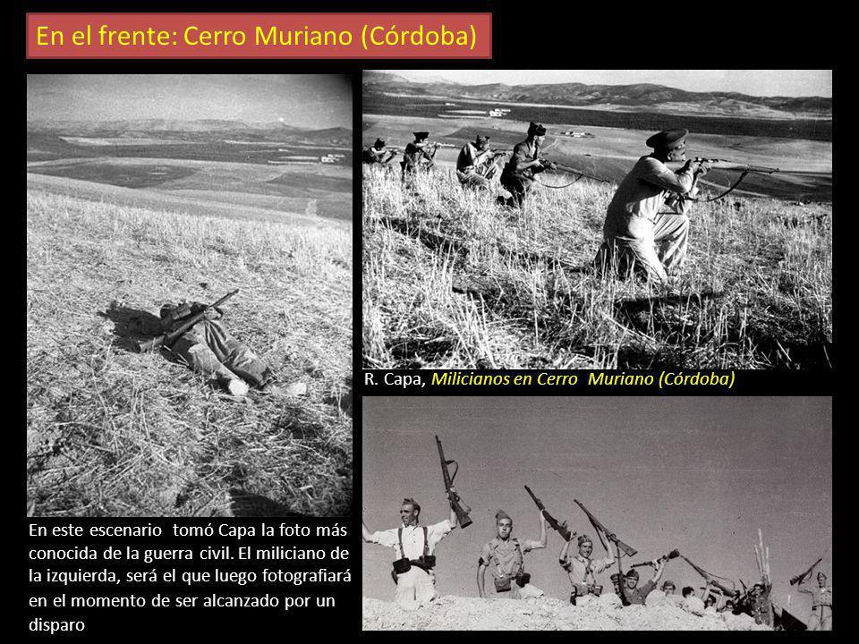 A. Centelles. Frente de Aragón En el frente G. Taro. Frente