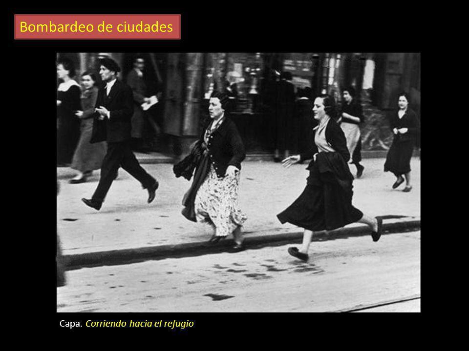 Bombardeo de ciudades Durante la guerra fueron frecuentes los bombardeos sobre Madrid, Barcelona y Valencia. También sufrieron ataques otras ciudades