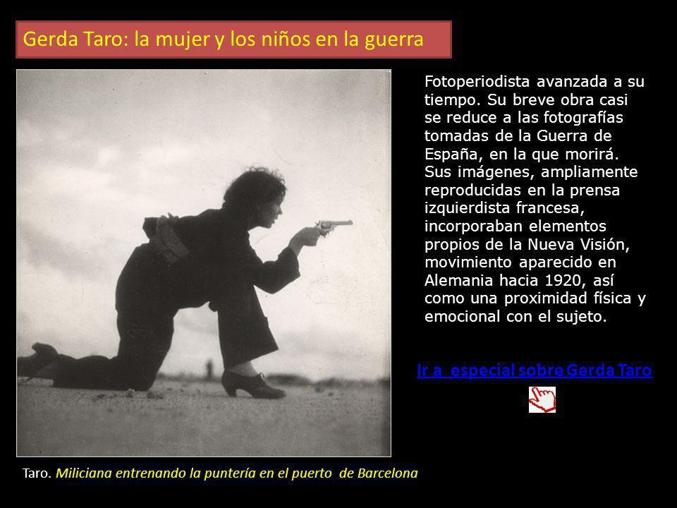 R Capa Muerte de un miliciano en Cerro Muriano (Córdoba) Ir a especial sobre Robert Capa Robert Capa: El reportero de guerra Capa llegó a España en el