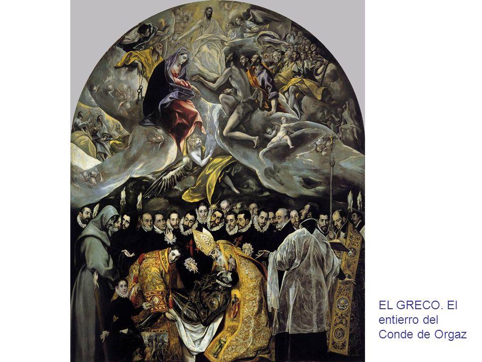 EL GRECO. El entierro del Conde de Orgaz