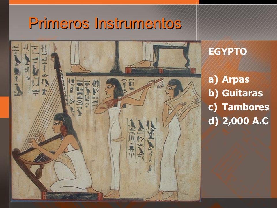 Instrumentos Acusticos VS.